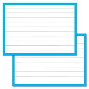 A7 Leitner Flashcards-Blue